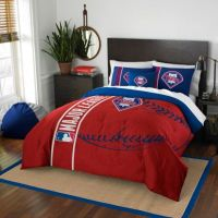 MLB Philadelphia Phillies Embroidered Comforter Set - Bed ...