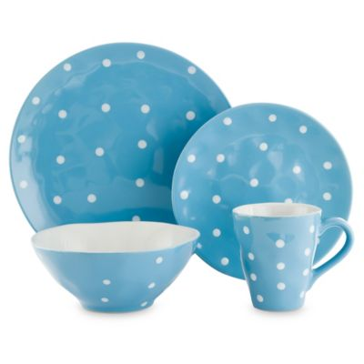 Maxwell & Williams Sprinkle Dinnerware Collection in Sky