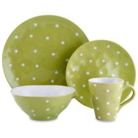 Maxwell & Williams Sprinkle Dinnerware Collection in Lime