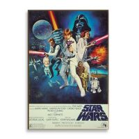 Star Wars Episode IV Movie Poster Wall Dcor Plaque - Bed ...