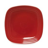 Fiesta Square Dinner Plate in Scarlet - www ...