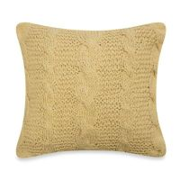 Buy Cable Knit Throw Pillow in Ivory from Bed Bath & Beyond