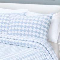 Finley Pillow Sham in Blue/White - Bed Bath & Beyond