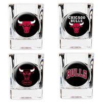 NBA Chicago Bulls Shot Glasses (Set of 4) - Bed Bath & Beyond