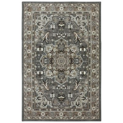 Karastan Euphoria Rhodes Rug In Ash Grey Bed Bath Beyond