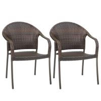 Barrington Wicker Stacking Chairs (Set of 2) - Bed Bath ...