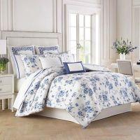 Wedgwood China Blue Floral Comforter Set - Bed Bath & Beyond