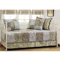 Vintage Paisley Quilted Reversible Daybed Bedding Set ...