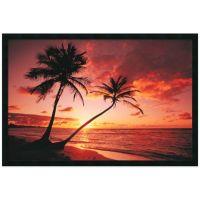Tropical Beach Sunset Framed Print Wall Art - www ...
