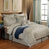 Austin Horn En'Vogue Glamour Comforter Set in Spa Blue ...