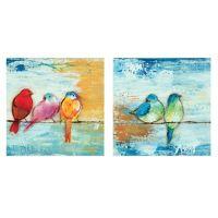Song Birds Canvas Wall Art - Bed Bath & Beyond