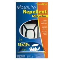 Theramcell Mosquito Repellent Patio Lantern in Black - Bed ...