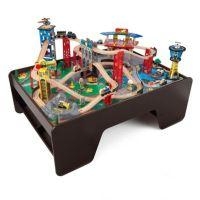 KidKraft Super Highway Train Set and Table - Bed Bath ...