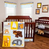 Buy Trend Lab Let's Go Camping 3-Piece Crib Bedding Set ...