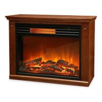 LifeSmart Lifezone Electric Fireplace Heater - Bed Bath ...