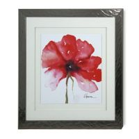 Buy StyleCraft Floral in Red Wall Art from Bed Bath & Beyond