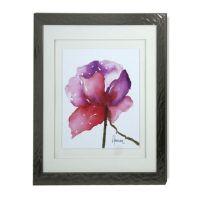 StyleCraft Paragon in Pink Framed Print Wall Art - Bed ...