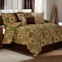 Woodland Comforter Set in Tan/Brown - Bed Bath & Beyond