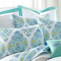 Buy Quilted Pillow Shams Blue and White from Bed Bath & Beyond