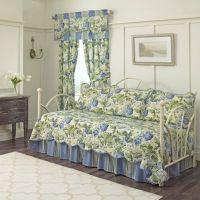 Waverly Floral Flourish Daybed Bedding Set in Porcelain ...