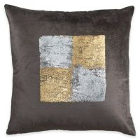 Callisto Home Plush Velvet with Gold and Silver Foil ...