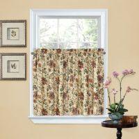 Waverly Felicite 36-Inch Window Curtain Tier Pair - Bed ...