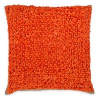 Callisto Home Fabric Ball Accented Boule Square Throw ...