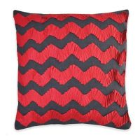 Buy Callisto Home Andrea Throw Pillow in Red from Bed Bath ...