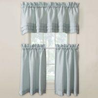 Buy Langley 24-Inch Kitchen Window Curtain Tier Pair in ...
