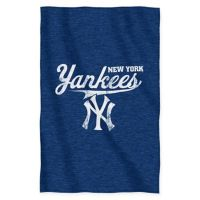 Buy MLB New York Yankees Full Embroidered Comforter Set ...