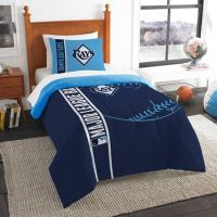 MLB Tampa Bay Rays Printed Twin Comforter by The Northwest ...