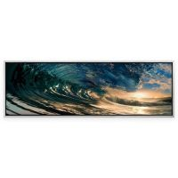 Elementem Photography The Wave Framed Photographic Canvas ...