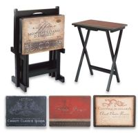 Buy Tuscan 5-Piece Snack Table Set from Bed Bath & Beyond