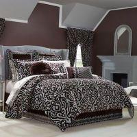 J. Queen New York Sicily Comforter Set in Plum - Bed Bath ...