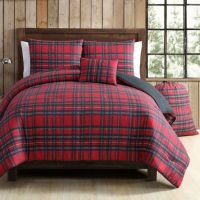 VCNY Tartan Plaid Comforter Set in Red/Green - Bed Bath ...