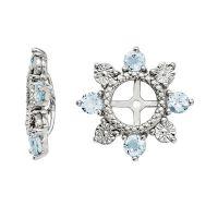 Genuine Aquamarine Sterling Silver Earring Jackets   Shop ...