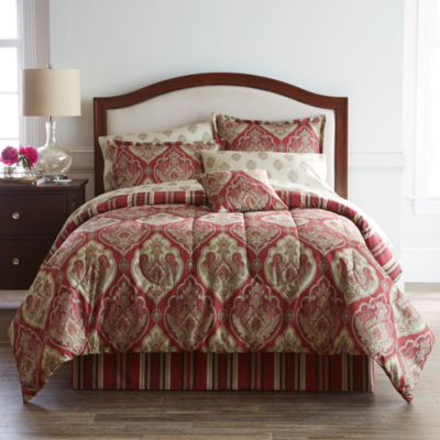 Home Expressions Chandler Complete Bedding Set with Sheets
