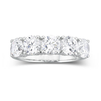 Wedding 20Bands jcpenny wedding rings T W Cubic Zirconia Wedding Ring JCPenney