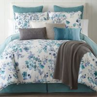 JCPenney Home Clarissa 4-pc. Reversible Comforter Set ...