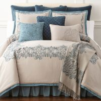 Royal Velvet Sienna 4-pc. Comforter Set - JCPenney