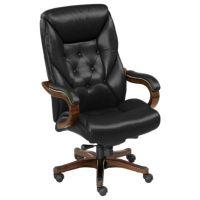 Kingston Big & Tall Leather Executive Chair ...