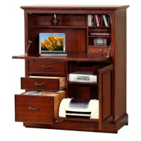 Willow Creek Computer Armoire - 41W - 8803360 ...