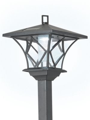 Solar Lamp Post Ideaworks 2 In 1 Led Solar Lamp Post