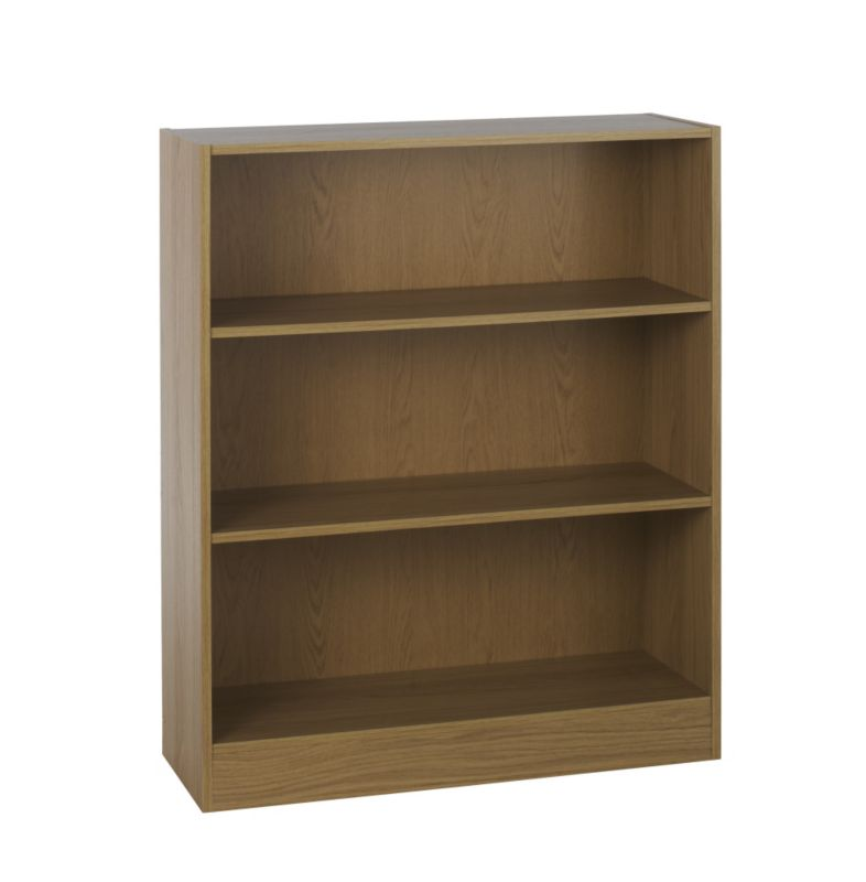 Low Walnut Bookcase Alton Book Cases Book Cases B And Q