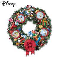 Disney Lit Wreath: Disney 'It's A Magical Disney Christmas ...