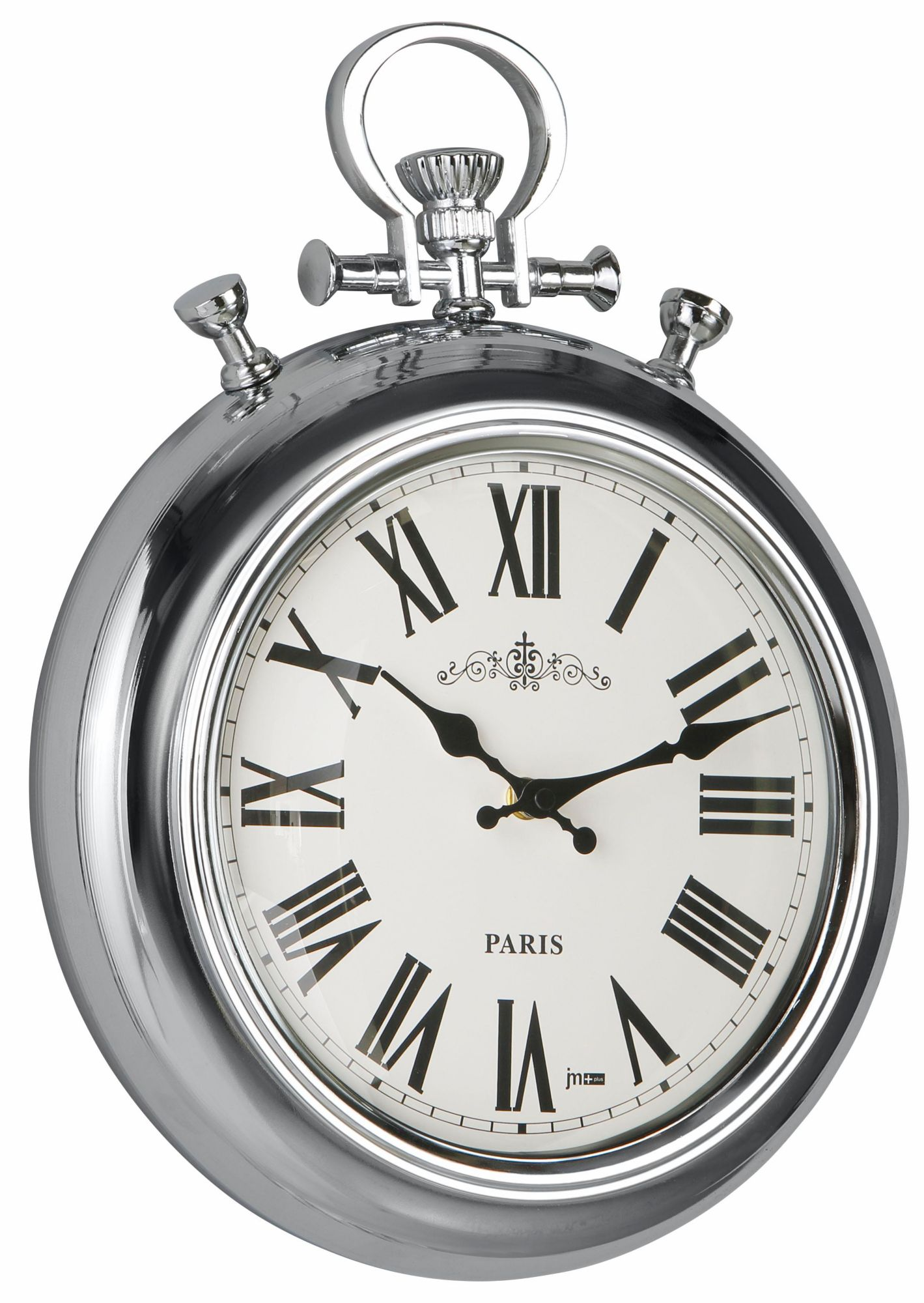 Tfa 60 3010 Quarz Wanduhr 28 5cm X 4 5cm Silber Premium Collection By Home Affaire Wanduhr