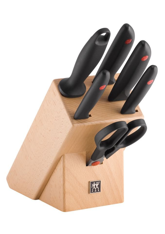 Zwilling Gourmet Messerblock 7-tlg Messerblock Zwilling Twin Point 7tlg