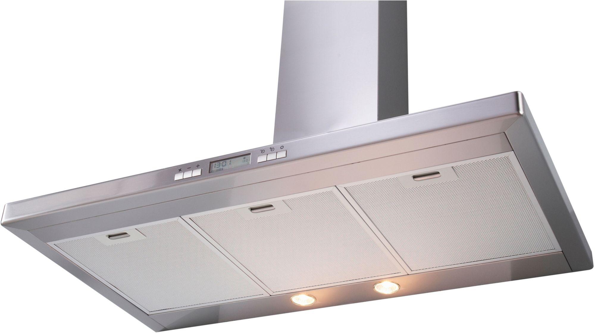 Deckenlüfter küche umluft test dunstabzugshaube kochinsel abluft