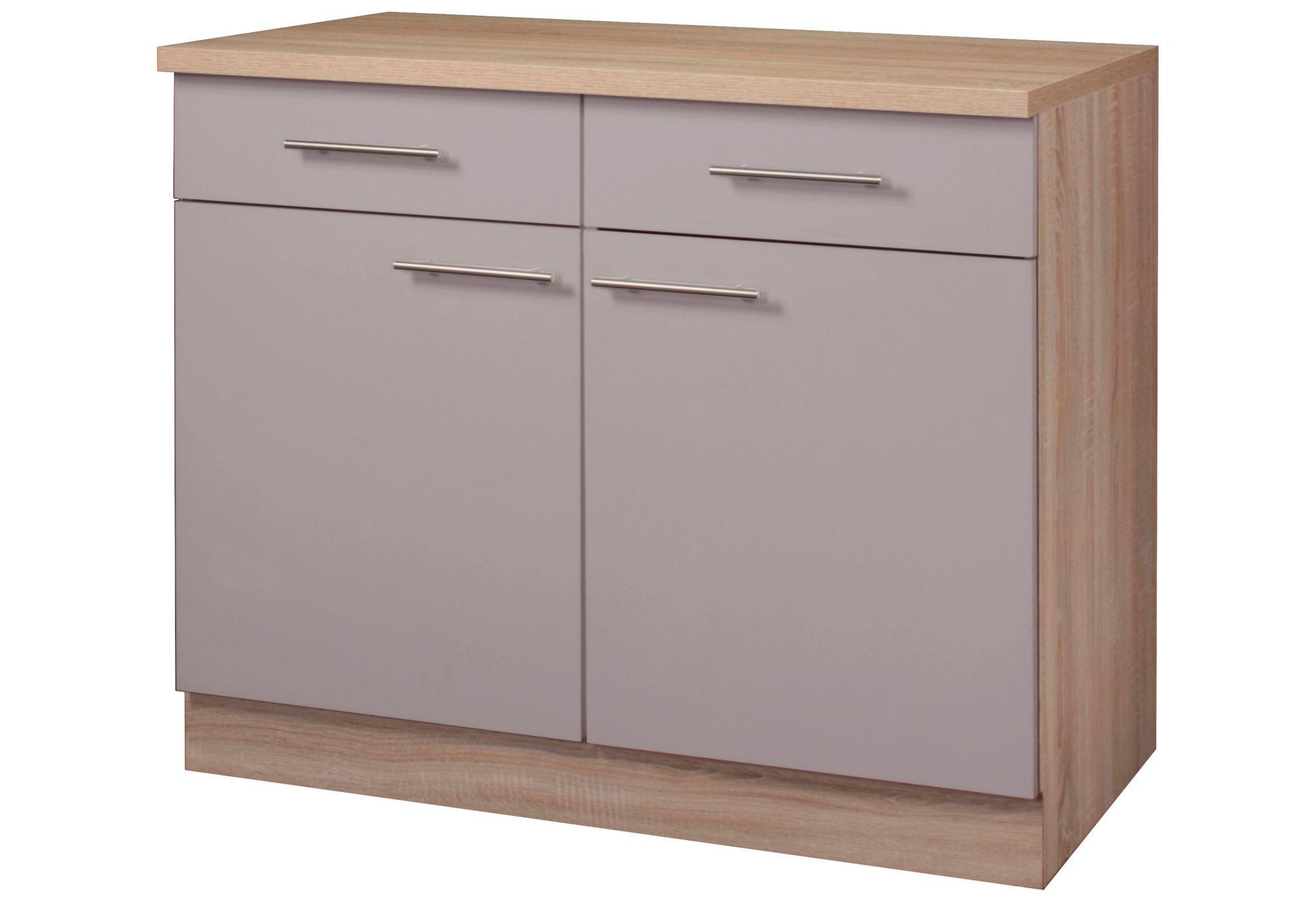 Unterschrank Küche Ordnung   Küchenschrank Weiß Grau Küche Anrichte ...