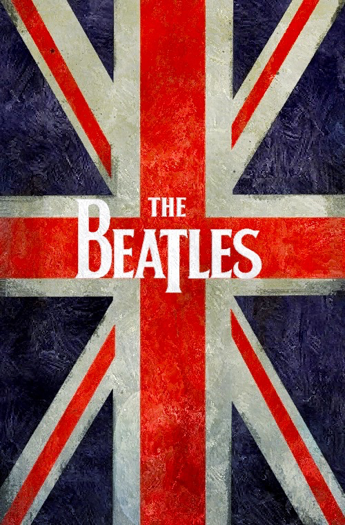 Union Jack Iphone Wallpaper The Beatles Wallpaper Image 2431738 By Maria D On Favim Com
